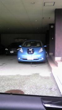 電気自動車の充電現場、はじめて見た!