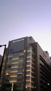 大阪駅ビル・・・キレイ!