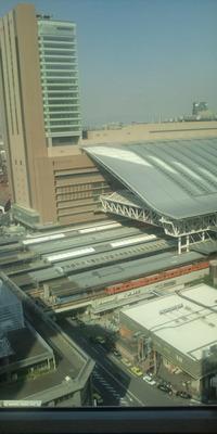 大阪駅、出来てきました~