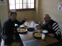 彦根市から久々のホルモンうどんを食べに!