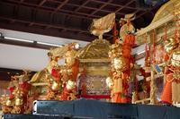三基のお神輿 (祇園祭・八坂神社)