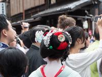 息づく伝統 (花見小路・祇園祭神幸祭)