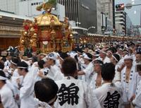 神様のおかえり (祇園祭・還幸祭)