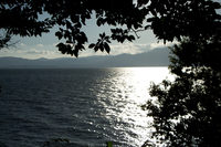 光る海 (琵琶湖・近江八幡)