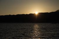 淡海の夕暮れ (近江八幡)