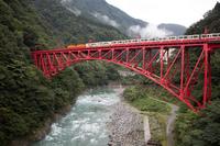 一番列車がゆく (宇奈月温泉・黒部峡谷鉄道)