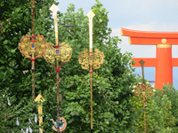 剣の鉾がゆく (東山三条付近・粟田祭)