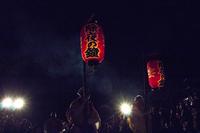 月夜の除夜の鐘 (三井寺)