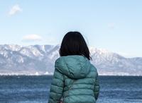 淡海を見つめて (守山湖畔・琵琶湖)