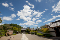 遥かなる比叡山を借景にして(妙満寺)