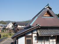 近代的な茅葺風の家 (木之本・古橋地区)