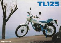 『TL125J Fieldtripper 』 カタログ
