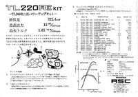 『RSC TL220RⅡ』キットカタログ