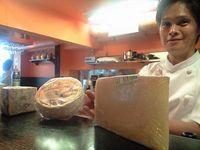 両替町のottimoでこだわりのチーズ