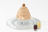 マールブランシュ北山本店さんの「雪の菓 モンブラン氷」