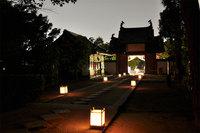宇治市・萬福寺『月見の煎茶会』 秋の夜長を茶で愉しむ