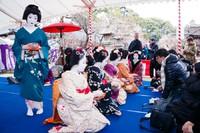 梅花祭野点大茶湯 2017年2月25日