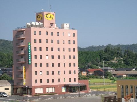 シティホテル峰山外観