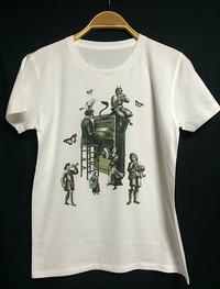 新作Tシャツデザイン『集中できます』