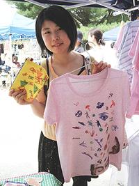 8月 上賀茂神社手づくり市 出店記録。