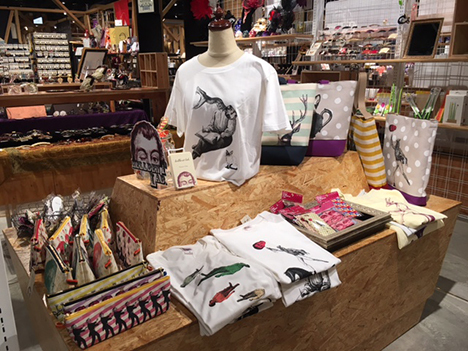 昨日からハンズエキスポ銀座店で展示販売開始☆