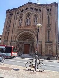 自転車スタイル(ヨーロッパの街で)