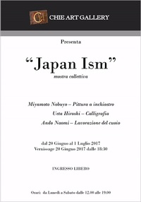 ミラノで3人展「Japan ISM」