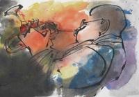 Jazzな墨の絵-宮本信代 墨の絵展