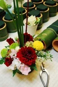 青竹の花器 2010/10/25 13:49:09
