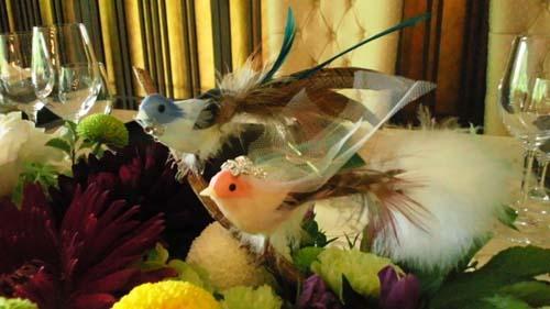 小鳥の飾り
