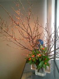 正月の生け花 2010/12/31 14:18:22