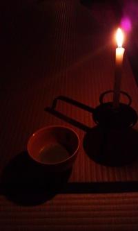 月夜の茶会