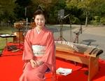 京町家でお琴体験
