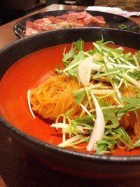 天壇の冷麺