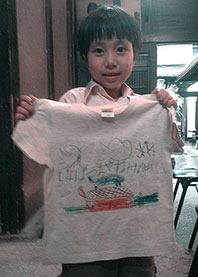 Tシャツワークショップ@堺町画廊