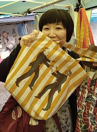 3ヶ月ぶりの上賀茂神社手づくり市に出店。