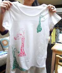 いよいよ明後日から!東急ハンズ梅田店でTシャツWSです。