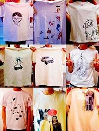 今週の金〜日開催。Tシャツワークショップ@雨林舎
