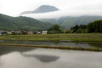 雲のマフラー (伊吹山)