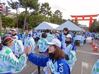 伝える絆 (平安神宮・京都マラソン)