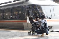 0番線の風景 (JR京都駅)