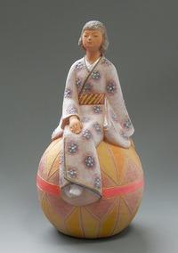陶彩人形のご紹介19 遊