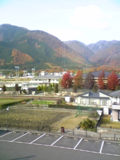 滋賀・北小松の紅葉