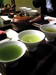 〔ほっこり庵〕お茶の飲み比べ@畠山製茶急須講座in四条京町屋