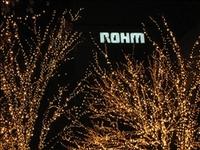 ロームのライトアップ!(1)
