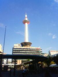 京都タワー@通常。