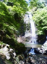 箕面の滝2。 2010/05/24 07:58:47
