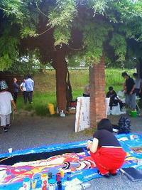 乱、東軍vs 西軍。 2010/06/06 17:03:16