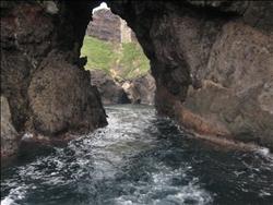 【海士町】洞窟突入。
