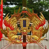 剣鉾・顔面カタログ 「福王子神社 御鉾(飛龍) 鳴滝村奉賛会守護 」